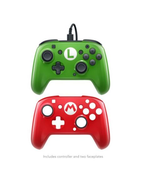 Manette Nintendo Switch PDP Face Off Super Mario