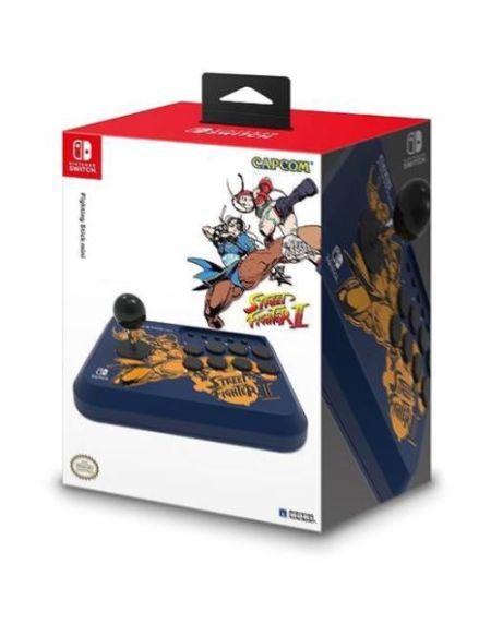 Manette Fighting Stick Hori Mini Street Fighter Chun-li pour Nintendo Switch