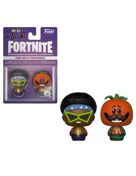 Figurine Funko Pop PSH 2Pack Fortnite Funkops et Tomatohead