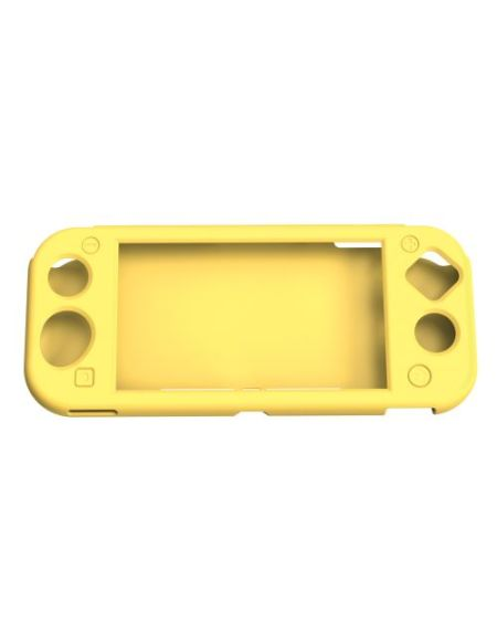 Etui en silicone Geek Monkeys pour Nintendo Switch Lite Jaune