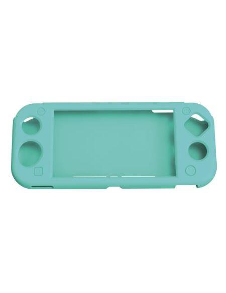 Etui en silicone Geek Monkeys pour Nintendo Switch Lite Turquoise