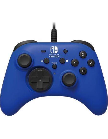 Manette filaire Hori Bleu pour Nintendo Switch