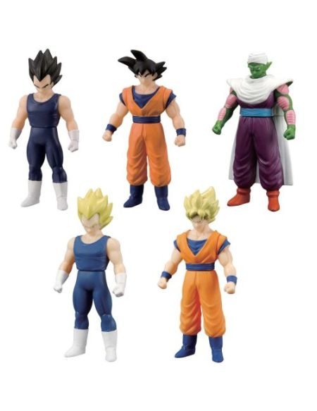 Pack de 5 figurines Dragon Ball Z Bandai 10 cm