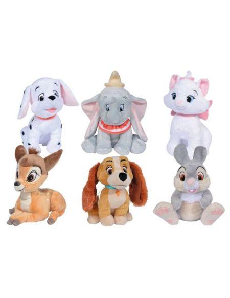 Peluche animaux Disney Modèle aléatoire 30 cm