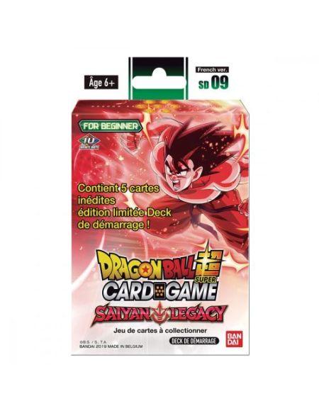 Jeu de cartes Dragon Ball JCC Starter 09 The Saiyan Legacy