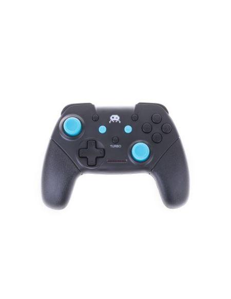 Manette Freaks And Geeks pour Nintendo Switch Sans fil Noire avec Stick Bleu