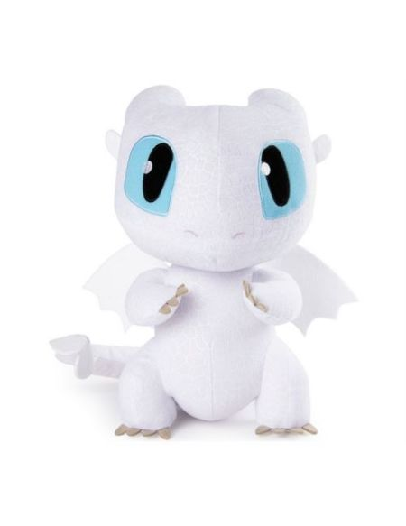 Peluche Sonore Dragons 3 Deluxe Light Fury 36 cm