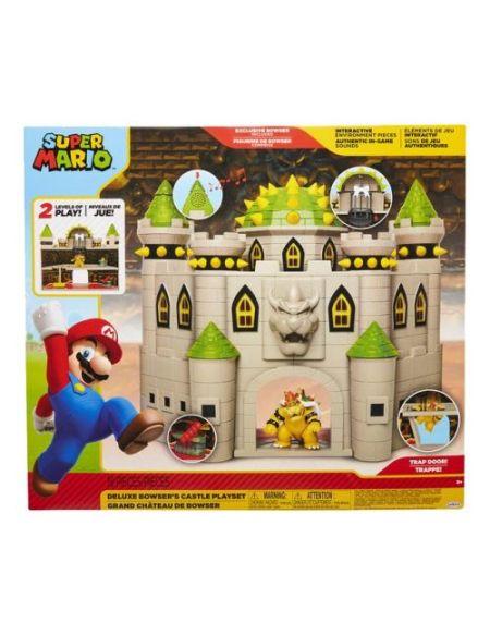 Playset Nintendo Mario Château de Bowser Deluxe