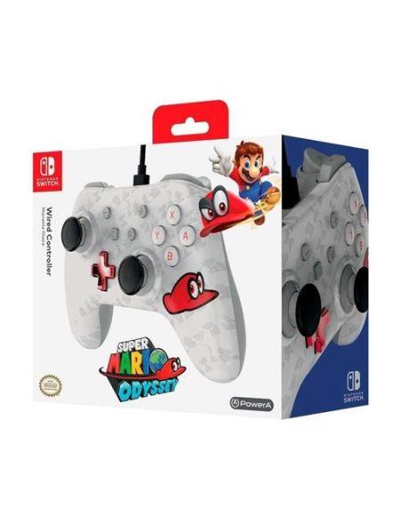 Manette Nintendo Switch filaire Nintendo Mario Oddyssey