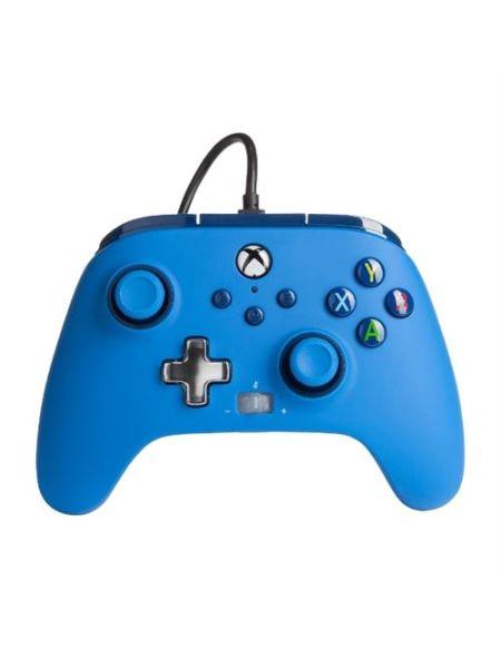 Manette filaire améliorée PowerA pour Xbox Séries X/S Bleu