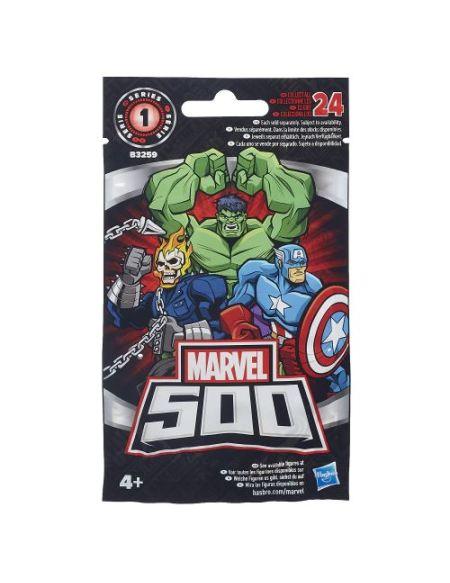 Mini-figurine Marvel 500 Micro Figures Avengers Modèle aléatoire