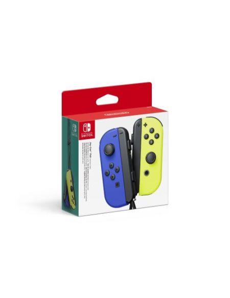 Paire de manettes Nintendo Switch Joy-Con Bleu et Jaune Néon