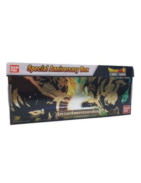 Jeu de cartes Bandai Dragon Ball Super Card Game Special Anniversary Box Modèle aléatoire
