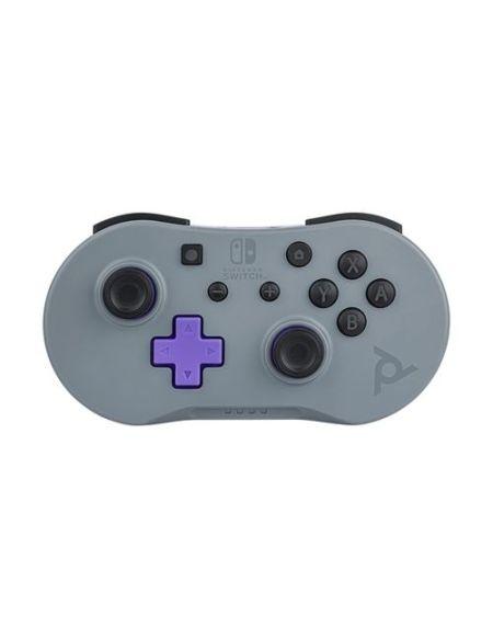 Mini Manette sans fil Pdp pour Nintendo Switch Gris