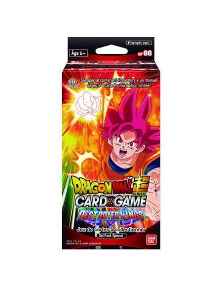 Jeu de cartes Bandai-Dragon Ball Z Super Jcc Spécial Pack Série 6
