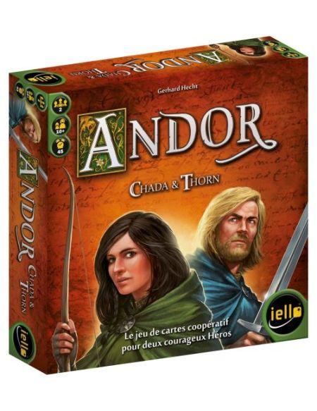 Jeu de société Andor Chada et Thorn Iello