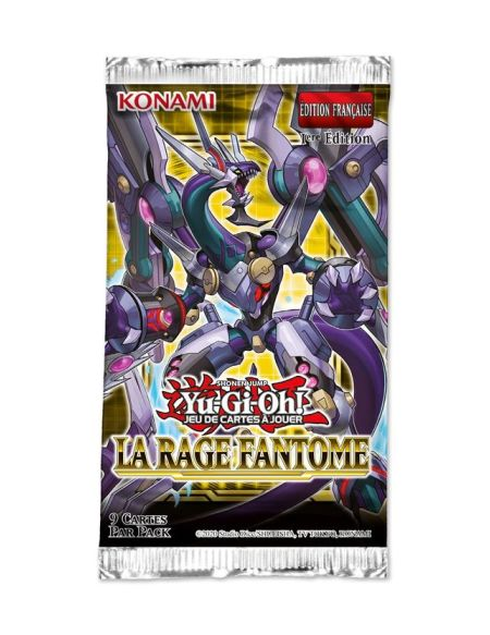 Jeu de cartes Yu-Gi-Oh JCC Booster Rage Fantôme Blister