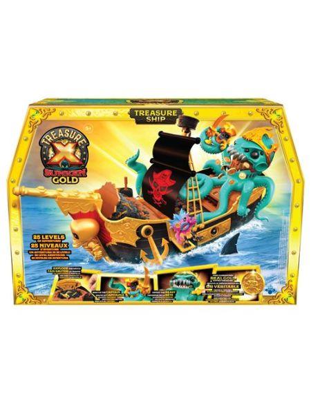Les énigmes du Bateau Pirate Trésor X