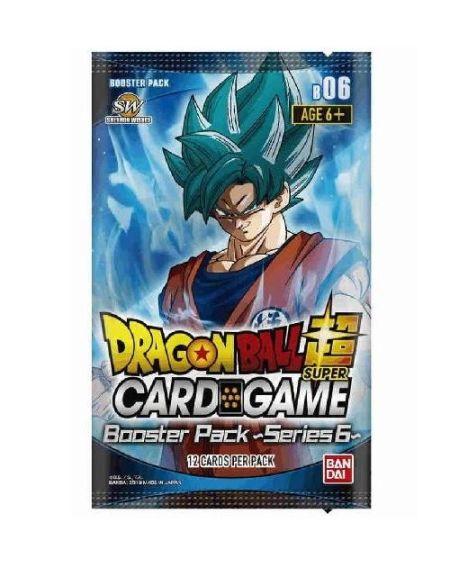 Booster Bandai-Dragon Ball Z Super Jcc Série 6