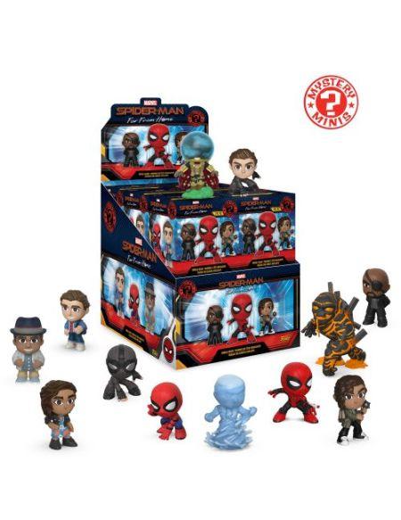 Figurine Funko Pop Mystery Mini Spider-Man Far From Home 1 pièce Modèle Aléatoire