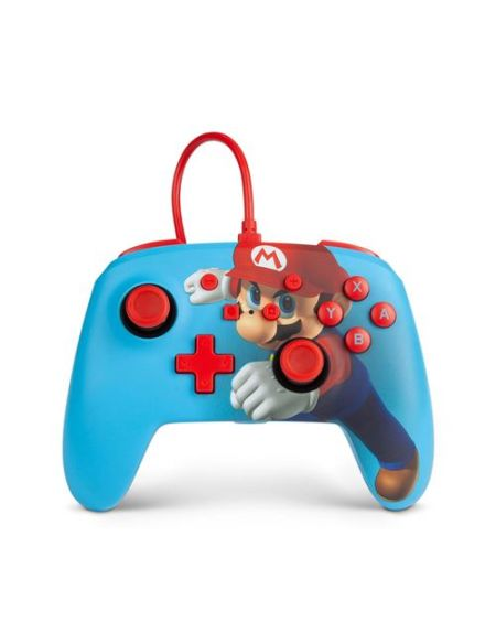 Manette filaire Power A Mario Punch pour Nintendo Switch