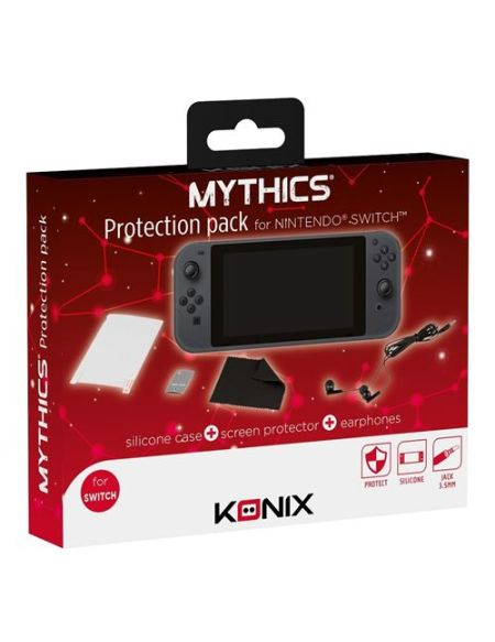 Pack de protection Konix pour Nintendo Switch