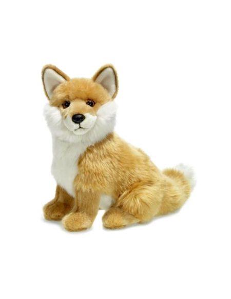 Peluche Wwf renard roux 23 cm