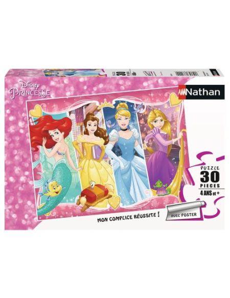Puzzle 30 pièces Nathan Entre amies Disney Princesses