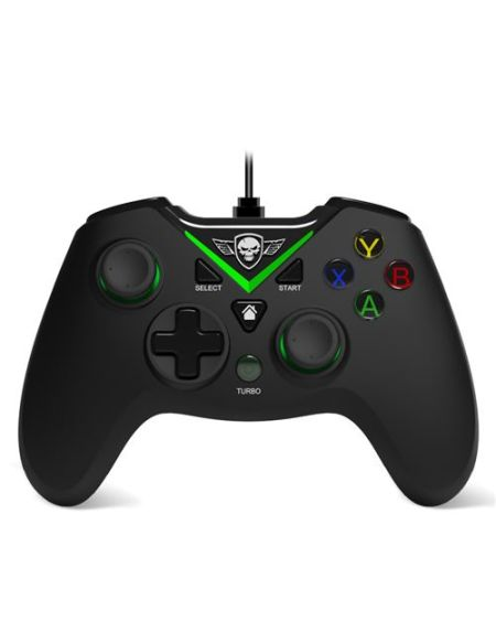 Manette Gaming avec fil Spirit of Gamer pour Xbox One Noir