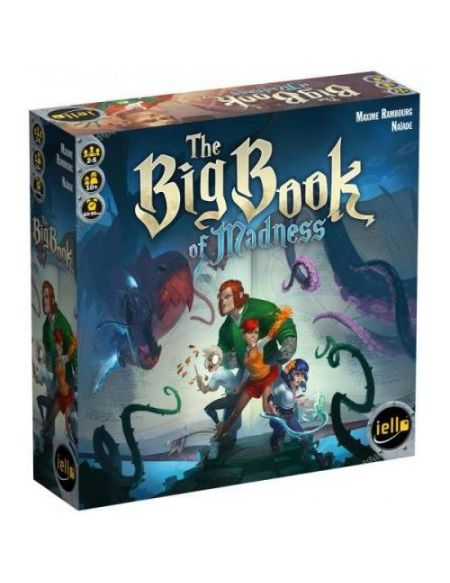 Jeu de société The big book of madness Iello