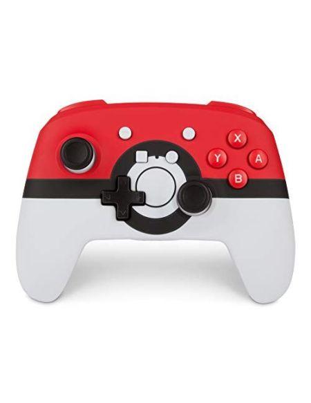 Manette Nintendo Switch Power A PokéBall Sans fil Blanc