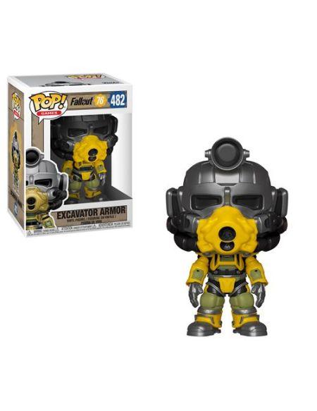 Figurine Funko Pop Games Fallout 76 Excavator Power Armor
