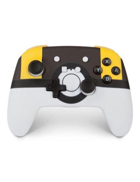 Manette de jeu Nintendo Switch PowerA Ultraball Blanc Jaune et Noir
