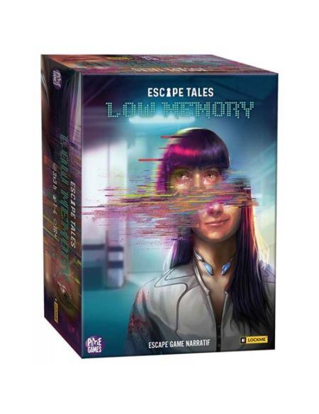 Jeu de société Board en Dice Escape Tales Low Memory
