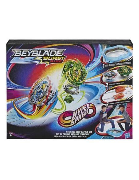 Set de Combat Beyblade Burst Arene Hypersphere Attaque Verticale de toupies