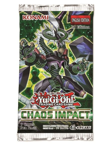 Jeu de cartes Yu-Gi-Oh Booster Impacte du chaos Konami