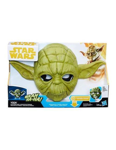 Masque électronique Star Wars Yoda