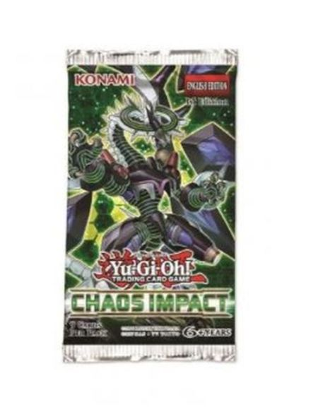 Jeu de cartes Konami Yu-Gi-Oh! Edition spéciale Impacte du chaos