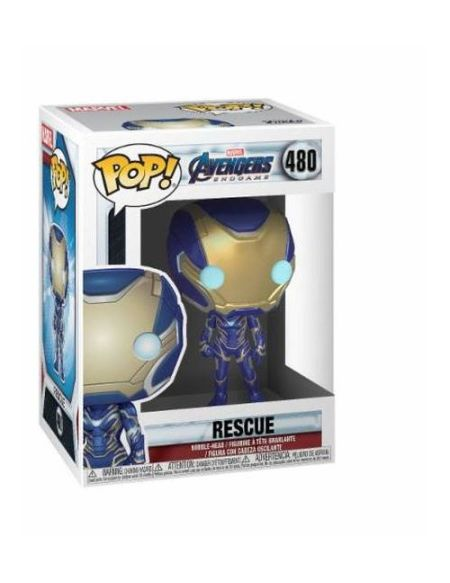Figurine Funko Pop Marvel Avengers Endgame Rescue 480