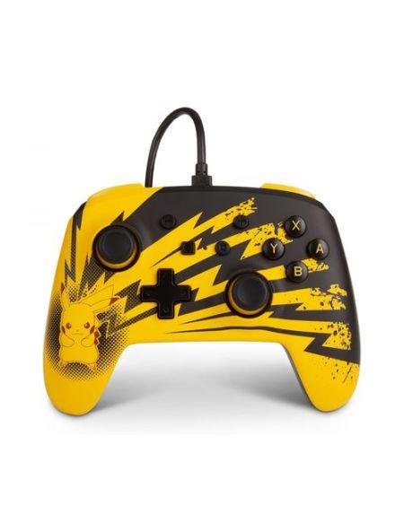Manette filaire Power A pour Nintendo Switch Pikachu Lightning