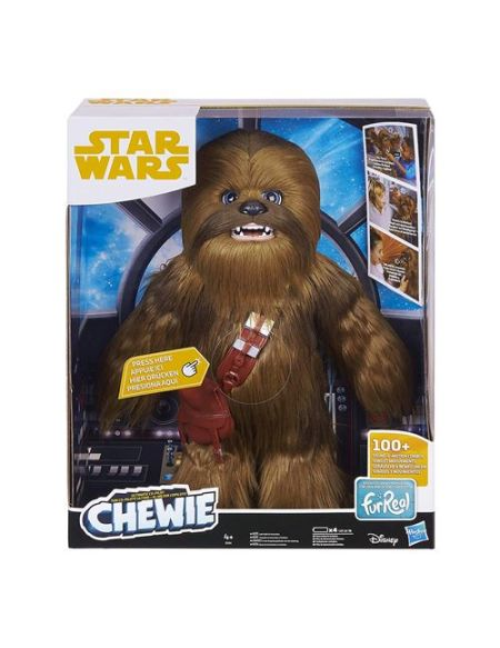 Figurine Star Wars Chewbacca Interactif