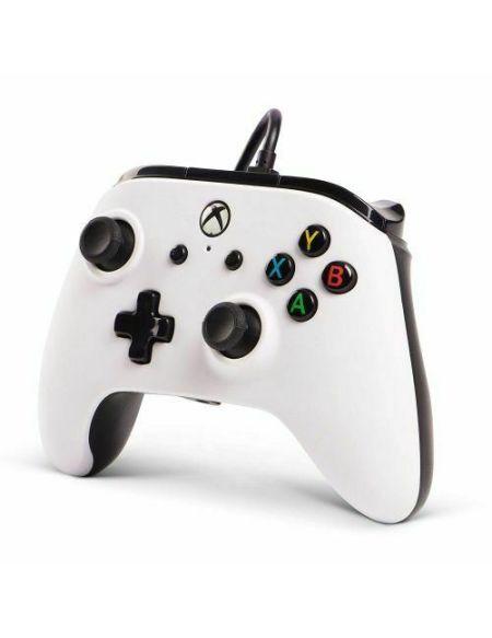 Manette Xbox One filaire PowerA Core Blanc