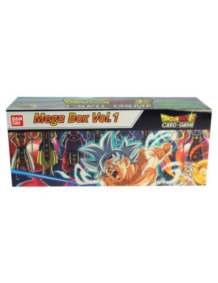 Jeu de cartes Bandai Dragon Ball Super Card Game Mega Box Vol 1