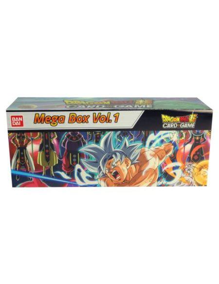 Jeu de cartes Bandai Dragon Ball Super Card Game Mega Box Vol 1