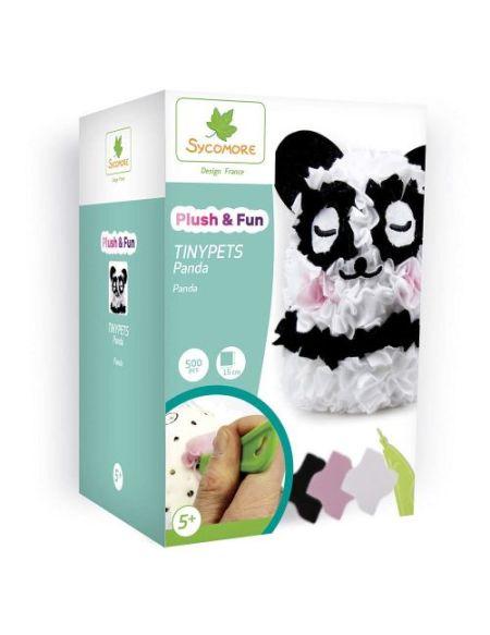 Kit créatif Au Sycomore Plush & Fun Tinypets Panda
