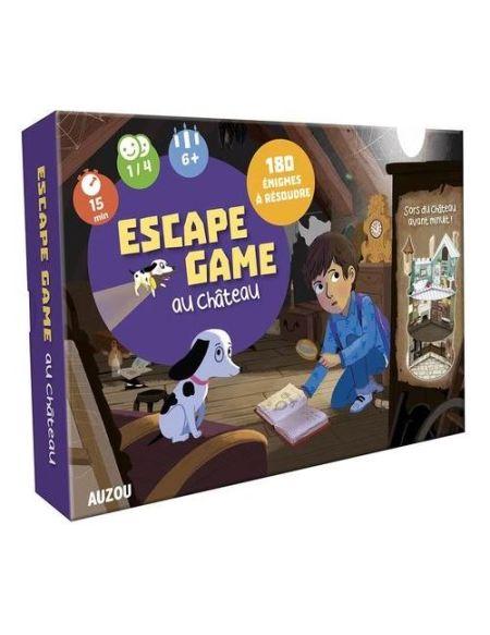 Jeu de société Auzou Escape Game au château