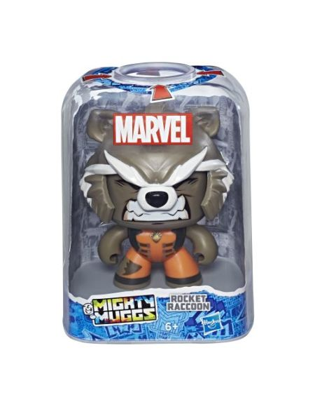 Figurine Mighty Muggs Marvel Rocket Raccoon