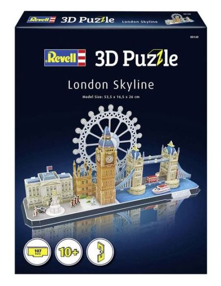 Puzzle 3D Revell London Skyline