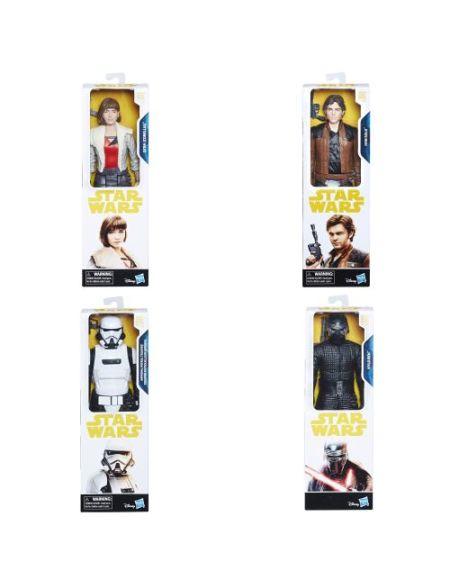 Figurine Star Wars Han Solo 30 cm Modèle aléatoire