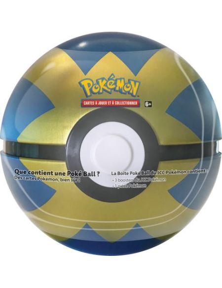 Cartes à Jouer et à Collectionner Pokéball Tin 3 Boosters Pokémon